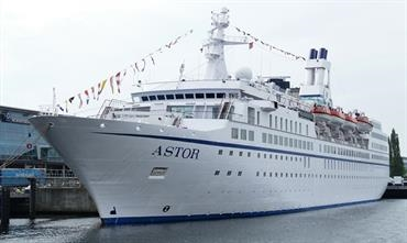 ASTOR will become JULES VERNE for Croisières Maritimes et Voyages © Kai Ortel