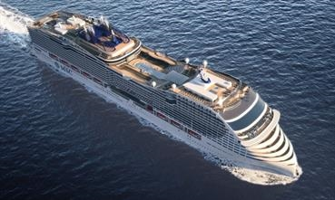MSC Cruises' LNG-powered World Class series has been extended to four ships. © MSC Cruises