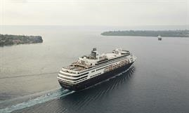 It is understood that Iliopoulos is the myestery buyer of the S Class PACIFIC ARIA. © P&O Cruises (Australia)