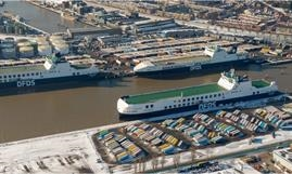 SCANDIA SEAWAYS has joined HOLLANDIA SEAWAYS on the six-times-weekly Vlaardingen-Immingham route. © Paul Lammers-DFDS