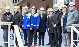 COSTA TOSCANA's coin ceremony comes 6.5 months after the first steel cutting. © Costa Cruises