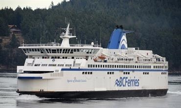 SPIRIT OF BRITISH COLUMBIA will leave BC, Canada for Remontowa on 12 September © Philippe Holthof