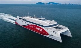 A.P.T. JAMES has been delivered. © Austal