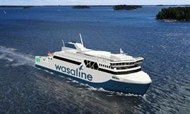 As expected, Wasaline's new ro-pax will be built in Finland © RMC