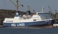 IONIAN SKY has been bought by Babis Simantonis' Medferry Shipping © Frank Lose